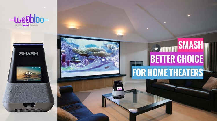 A Smart Projector is the Best Choice for a Home Theatre